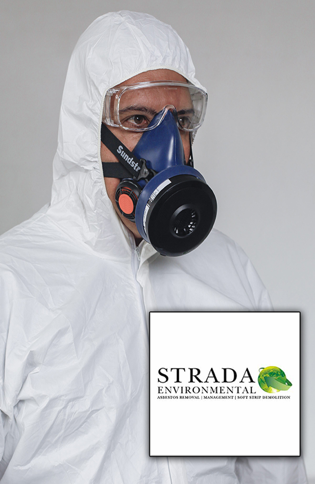 strada employee with strada logo